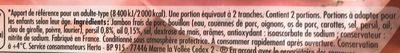 Tendre Noix Façon Carpaccio à l'Ail et au Persil - Ingrediënten