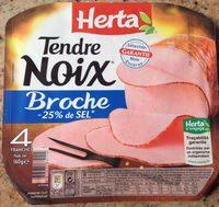Tendre noix broche -25% sel - Produit - fr