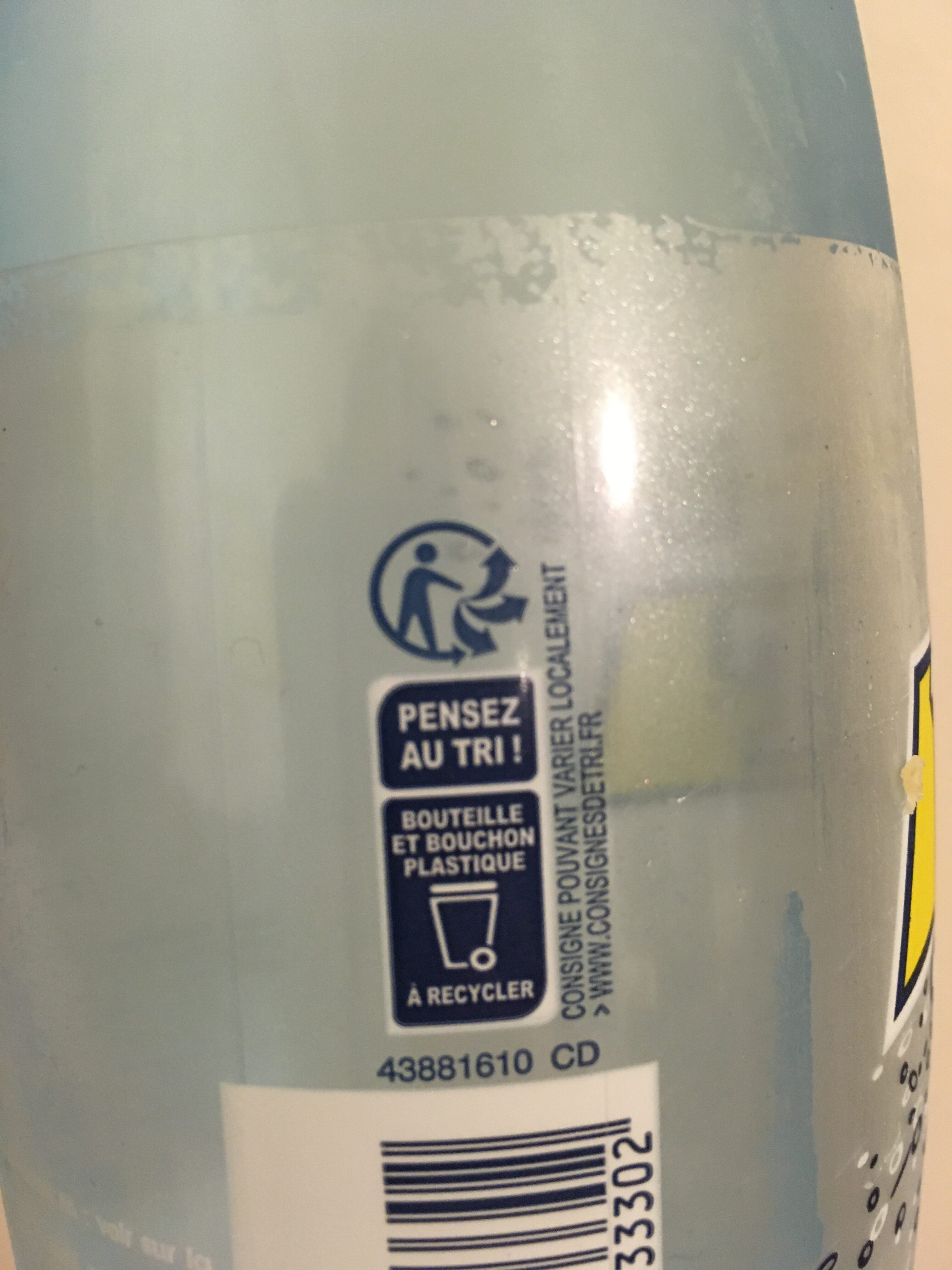 Perrier fines bulles - Recycling instructions and/or packaging information - fr