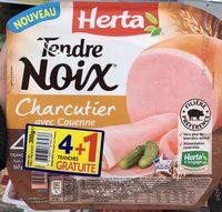 Tendre noix Charcutier avec couenne (4+1 gratuite) - Produit