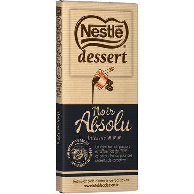 NESTLE DESSERT Chocolat Noir Absolu - 15