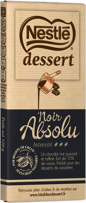 NESTLE DESSERT Chocolat Noir Absolu - Prodotto
