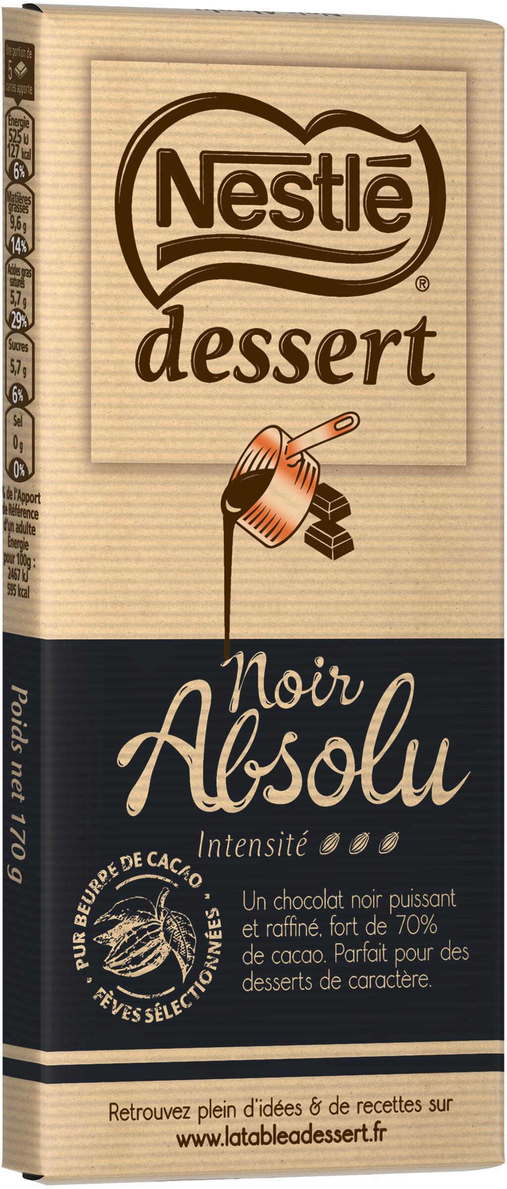 NESTLE DESSERT Chocolat Noir Absolu - Produit - fr