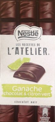 Les Recettes de l'Atelier Ganache Chocolat et Citron Vert - Prodotto - fr