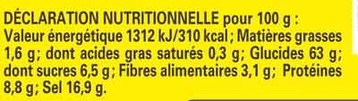 Fond de Champignons - Informations nutritionnelles - fr
