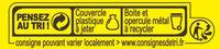 Fond de Champignons - Instruction de recyclage et/ou informations d'emballage - fr