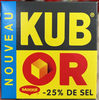 Kub Or (-25% de sel) - Product
