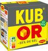 MAGGI KUB OR Bouillon -25% de sel 32 cubes - Product