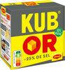 MAGGI KUB OR Bouillon -25% de sel 32 cubes - Produit
