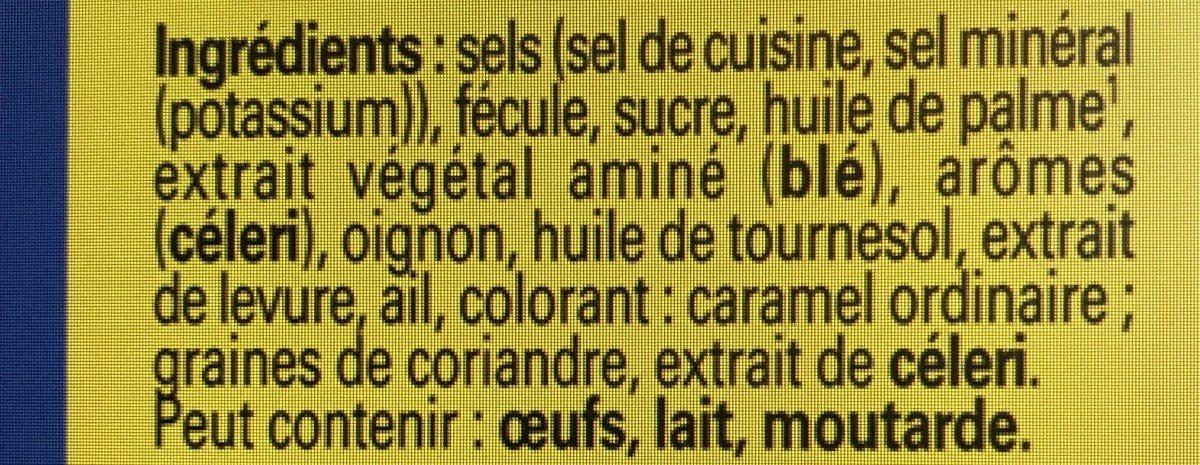 Kub Or (-25% de sel) - Ingrédients
