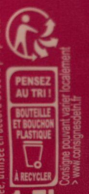 Eau - Instruction de recyclage et/ou informations d'emballage - fr