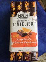 Orange confite & eclats de fèves de cacao - Prodotto - fr