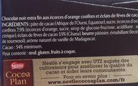Orange confite & eclats de fèves de cacao - Ingredienti - fr