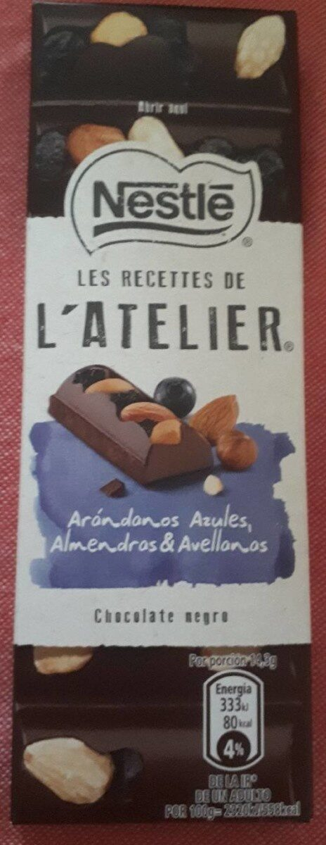 Chocolate negro almendras & avellanas - Product - es