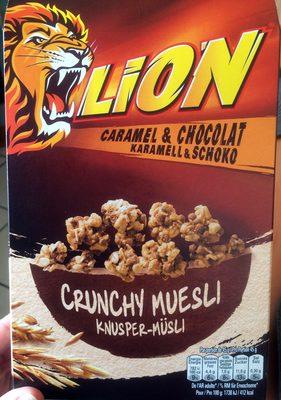 Crunchy muesli Lion - Produkt - fr