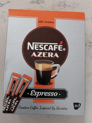 Nescafé espresso 1,8 g. 25 sticks - Produit - fr