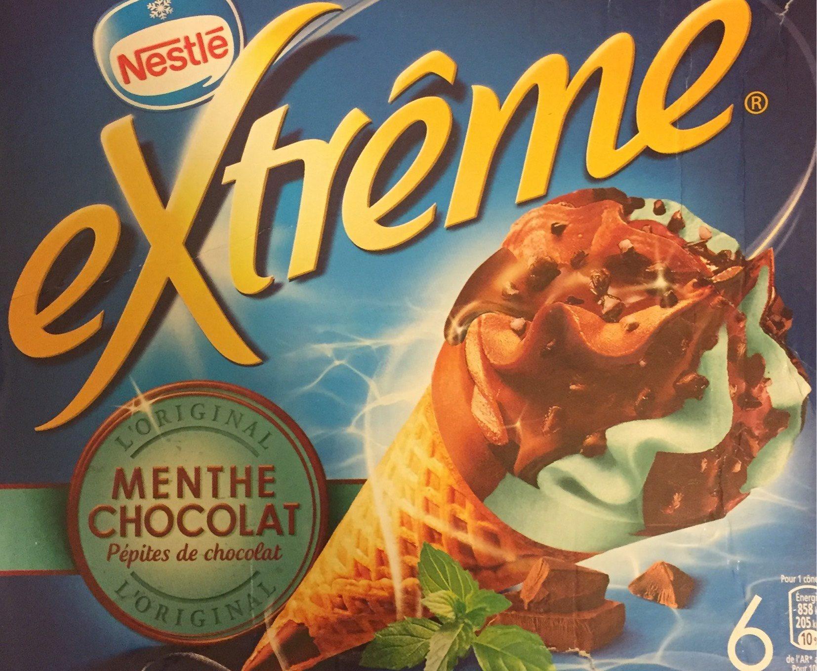 extrême Menthe Chocolat Pépites de chocolat - Product - fr