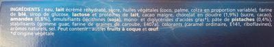 Extreme Chocolat Pistache - Ingredienti - fr
