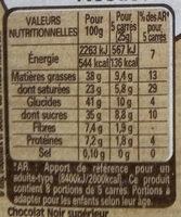 NESTLE DESSERT Chocolat Noir Corsé - Informations nutritionnelles - fr