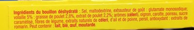 Bouillon volaille dégraissé - Ingrédients - fr