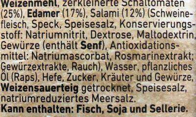 Steinofen Salami - Ingrediënten - de