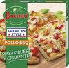 Pollo bbq pizza tradicional italiana al puro - Product