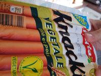 Knacki végétale blé et pois - Produit - fr