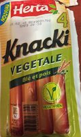 Knacki végétale blé et pois - Product - fr