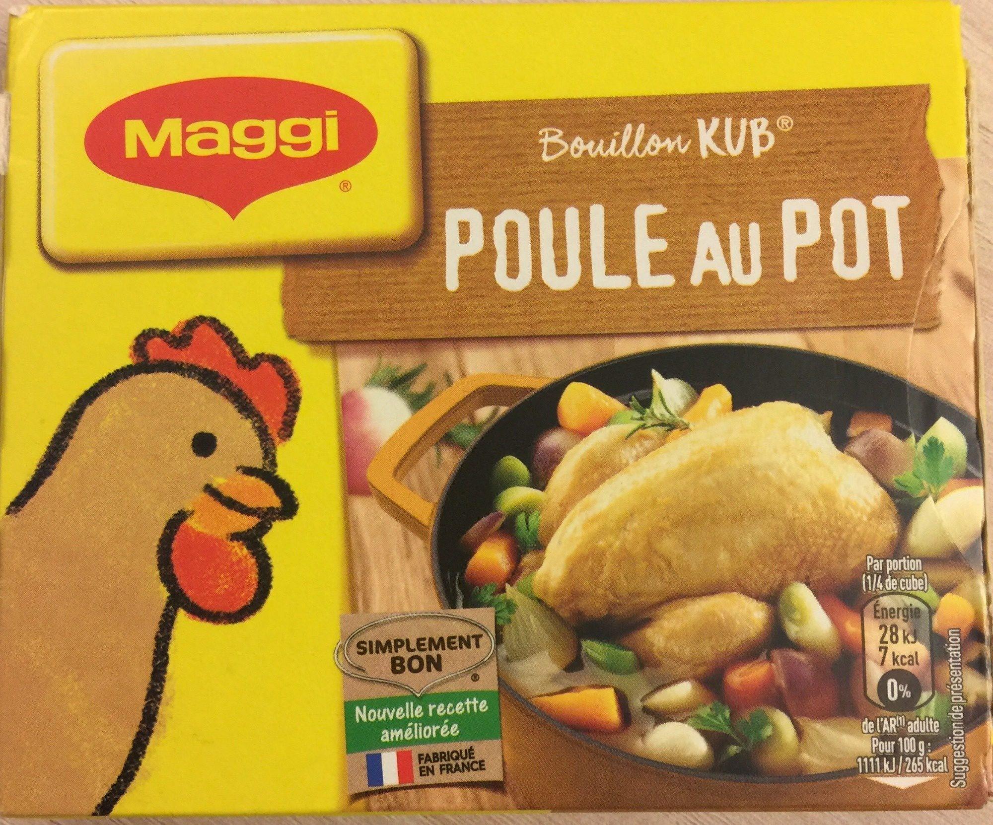 Bouillon Kub Poule au Pot - Product - fr