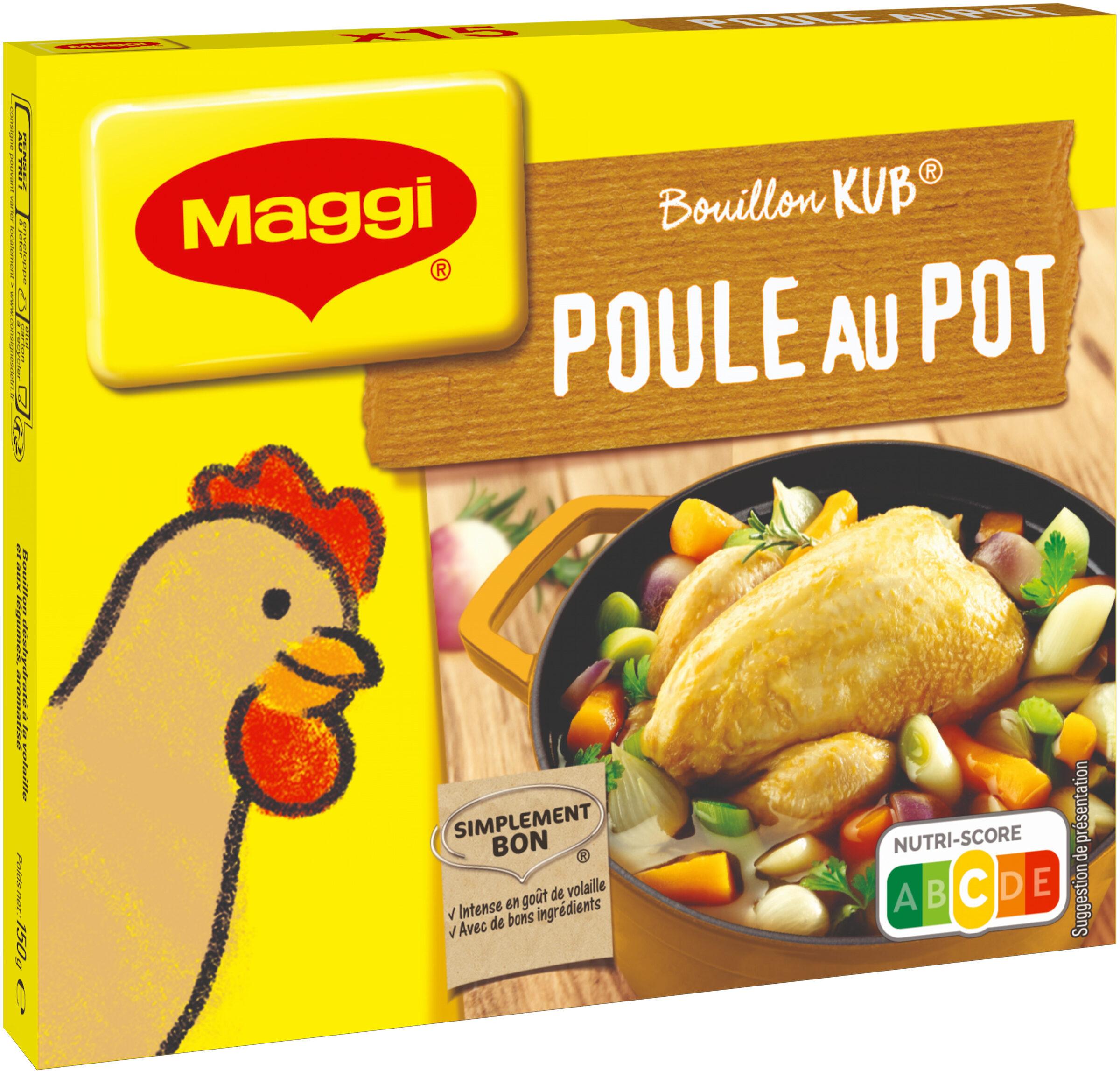 MAGGI Bouillon KUB Poule au Pot 15 cubes - Product - fr