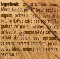 MAGGI Bouillon KUB Poule au Pot 15 cubes - Ingrediënten - fr