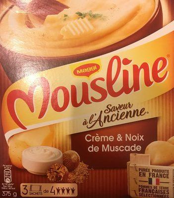 Purée Saveur à l'Ancienne, Crème & Noix de Muscade - Product - fr