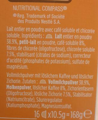 incarom latte - Ingrédients - fr