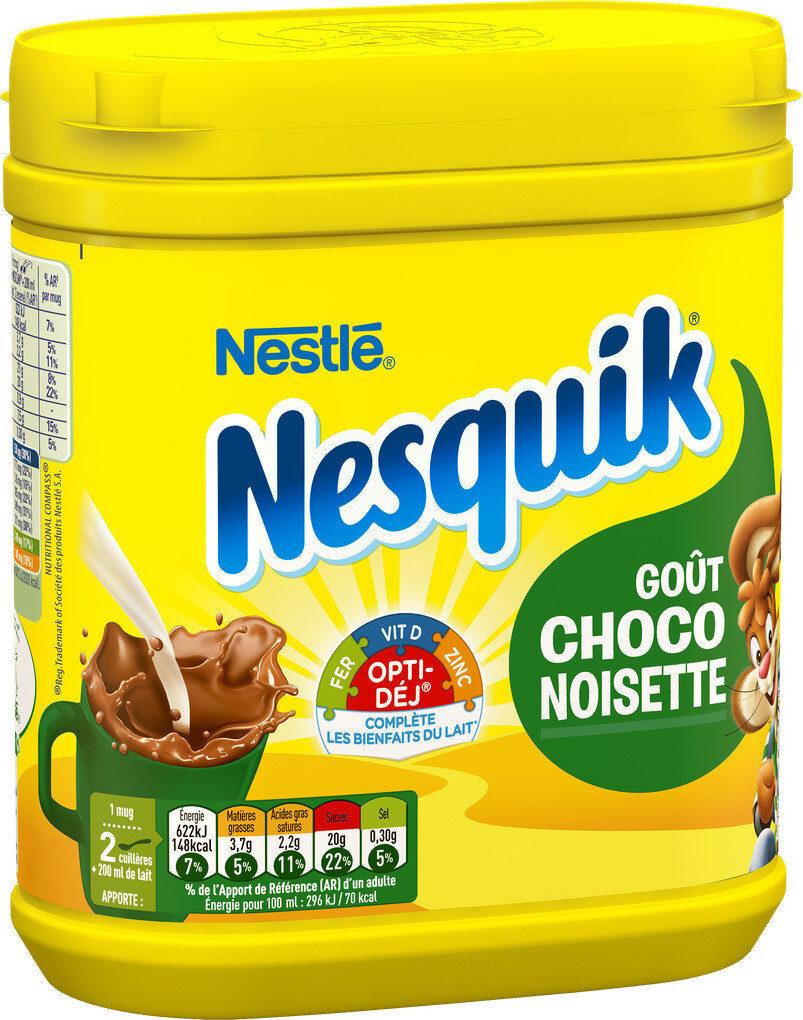 NESQUIK goût Choco Noisette Poudre Cacaotée - Produit - fr