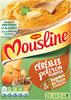 MOUSLINE Purée céréales, potiron et pommes de terre - 2 sachets de 3/4 personnes - Produto