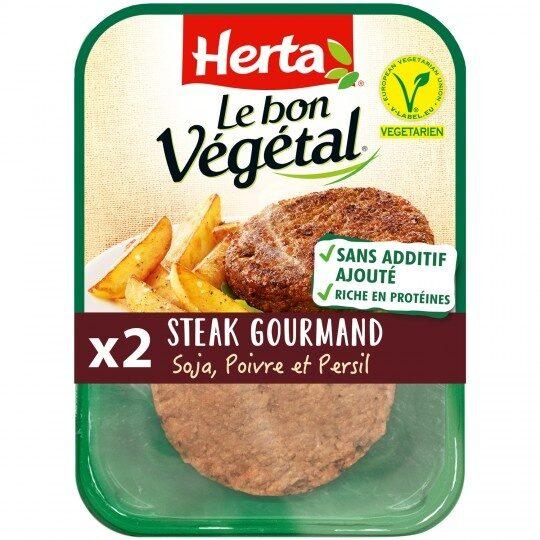 Le bon végétal - Steak gourmand - Prodotto - fr