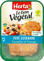 LE BON VEGETAL Pavé courgettes fromage - Produit - fr