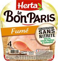 LE BON PARIS Fumé conservation sans nitrite - Produit - fr