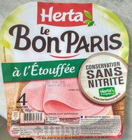 Le Bon Paris à l'étouffée conservation sans nitrite - Produit - fr