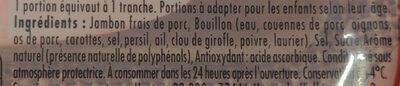 Le bon paris à l'étouffé - Ingredients - fr