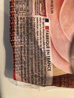 Le Bon PARIS à l'étouffée SANS NITRITE 4 tranches - Voedingswaarden - fr