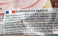 Le bon paris - Ingredients - en