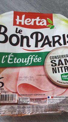 Le bon paris - Nutrition facts - en
