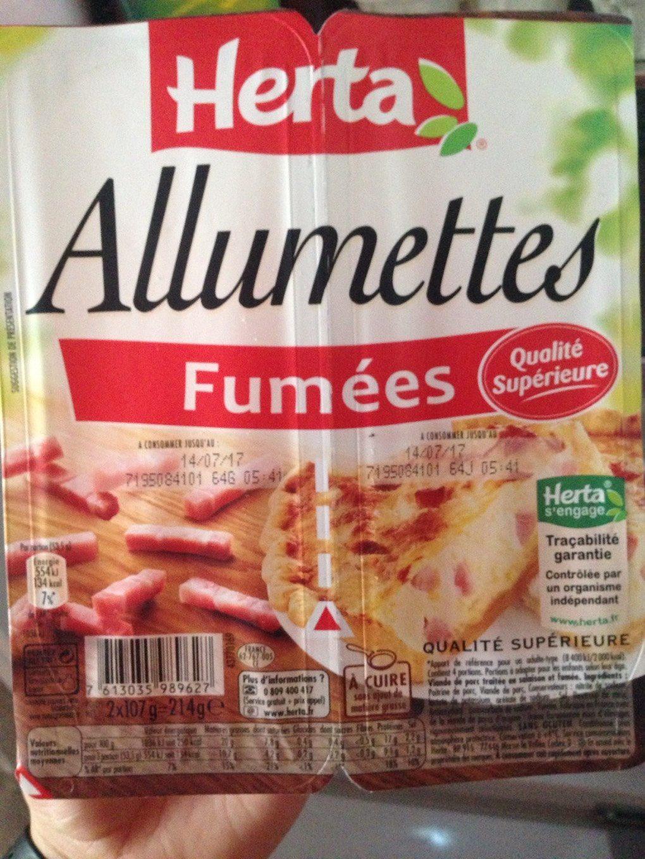Allumettes - Produit - fr