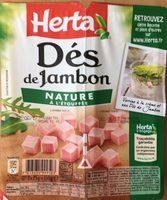 Dés de Jambon Nature à l'etouffé - Product