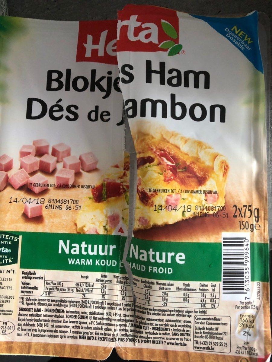 Herta Des De Jambon - Produit