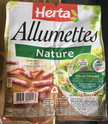 Lardons allumettes nature - Product