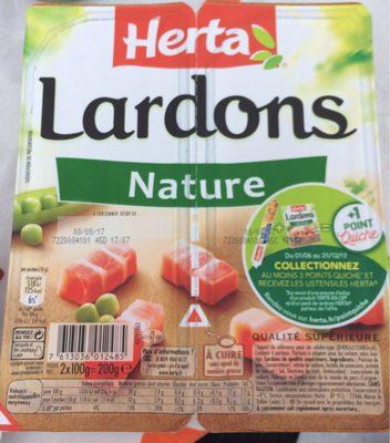 Lardons nature 2x100g Lardons nature - Prodotto - fr