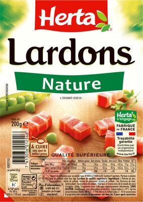HERTA Lardons nature - Prodotto - fr