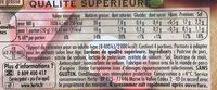 HERTA Lardons nature - Ingredienti - fr